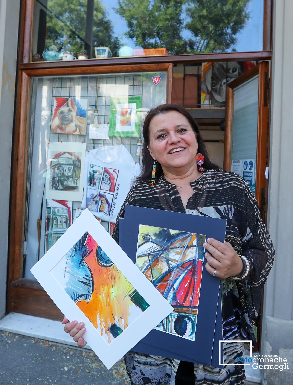 Silvia Serafini una pittrice fiorentina